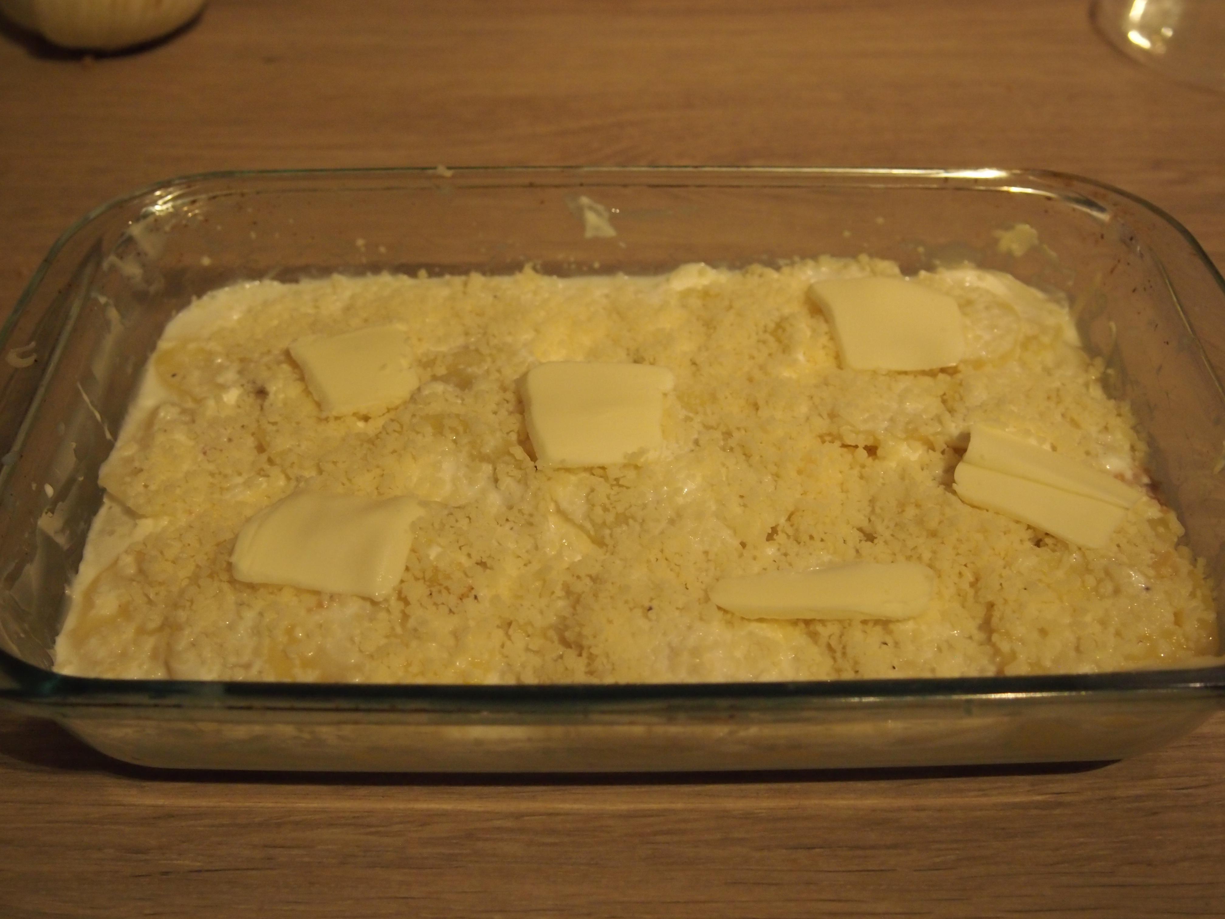 Fiche technique 141 gratin de pommes de terre au fromage - Cap cuisine candidat libre ...