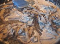 Sauce réalisée par déglaçage au porto