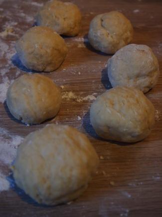 Pâte à nouilles portionnée