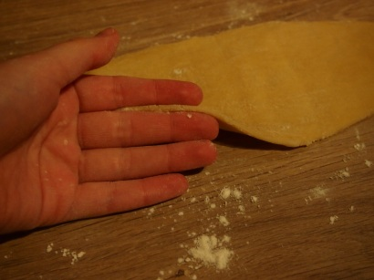 abaisser la pâte à 3