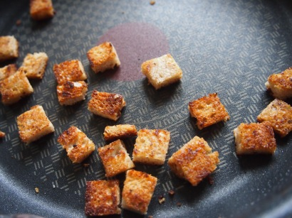 mes beaux croutons!